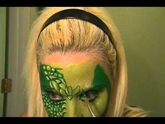 Reptile Face Painting Tutorial
