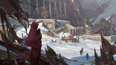 ArtStation - Iron Temple, Sung Choi