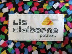 Liz Claiborne: From a 1980s ladies' blouse