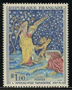 Jean Pheulpin - Tapisserie de l'apocalypse XIVème / Apocalypse tapestry, 14th century