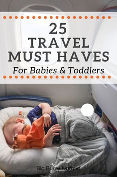 baby must haves This is the ultimate list of travel products for traveling with a baby or toddler or both! We have traveled extensively with young children and this is our top 25 products to make travel with kids easier! Toddler Travel, Travel With Kids, Family Travel, Baby Travel, Travel Tips With Toddlers, Travel Bag, Packing Tips For Travel, Travel Essentials, Travel Hacks