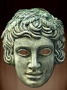 "RG - Greek masks were classically used to bring the actors ""closer to the audience"" because of the dramatic, overly-exaggerated expressions they portray. These masks also allowed actors to play multiple roles. (The word ""mask"" in Greek is ""persona"".)"