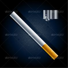 VECTOR DOWNLOAD (.ai, .psd) :: http://vector-graphic.de/pinterest-itmid-1000094115i.html ... Cigarette ...  addiction, candid, cigarette, dirty, grunge, object, realistic, smoke, smoking, symbol, textured, tobacco, vector  ... Vectors Graphics Design Illustration Isolated Vector Templates Textures Stock Business Realistic eCommerce Wordpress Infographics Element Print Webdesign ... DOWNLOAD :: http://vector-graphic.de/pinterest-itmid-1000094115i.html