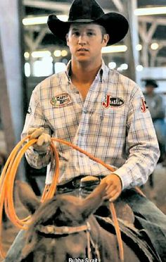 Bubba Strait (George Strait's son). THAT'S HIS SON?!?! woah! *fanning self*