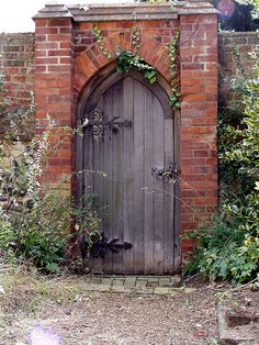 Door at Aldeburgh Church.