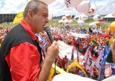 Líder da CUT ameaça invadir Brasilia na próxima segunda e acusa Lava Jato de…