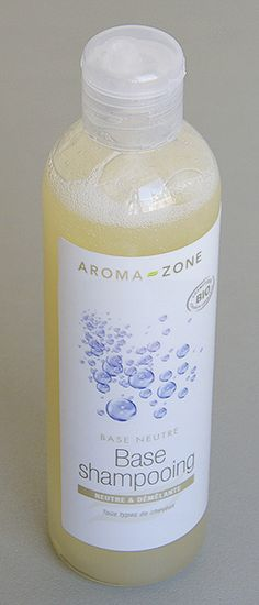 Shampoing huiles essentielles base neutre aroma zone
