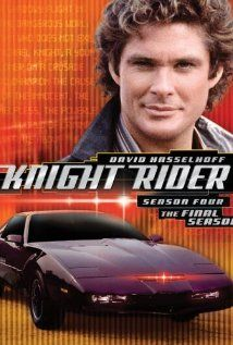 """Knight Rider"" 1982-1986   David Hasselhoff, Edward Mulhare & William Daniels"