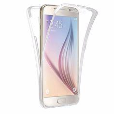 Coque protection transparente téléphone Samsung