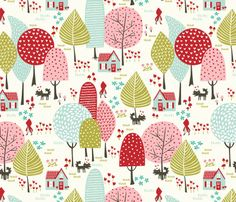 Idea for backing of a quilt.... Fabric – Shop for Fabric By Independent Designers – Spoonflower