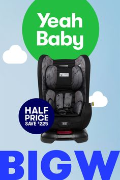 Babies are born with about 300 bones. And no natural padding. Strap 'em in tight with half price Infasecure Isofix Car Seats at BIG W, offer ends Feb 14.
