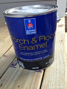How To Paint Concrete Updated Plus My Secret Cleaning