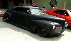 Matte black and this car perfect combo Hot Rods, Vintage Cars, Antique Cars, Sweet Cars, Us Cars, Car Pictures, Custom Cars, Cars And Motorcycles, Kustom
