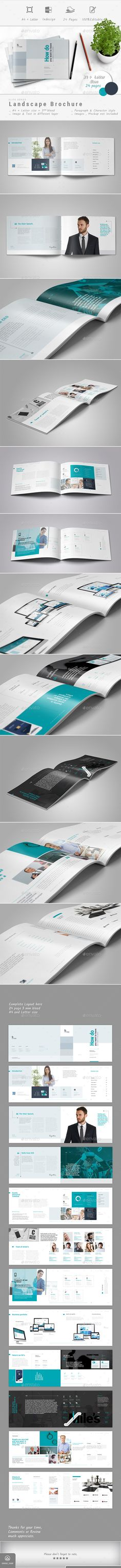 Brochure — InDesign INDD #brochure #brochure design • Available here ➝ https://graphicriver.net/item/brochure/21076744?ref=pxcr
