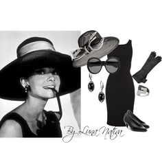 Audrey Hepburn inspired, created by Luna Nativa