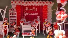 Claudia Festas BH: Tema Minnie provençal Vermelha