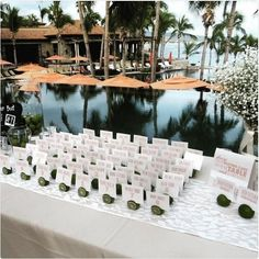 via @haciendacocina: How cute is this idea for #wedding place card holders? Who knew limes were so adorably versatile?