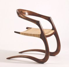 Just love so many aspects of this chair!  Hand crafted by Stephen O'Briain, Carlow, Ireland.