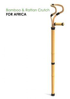 银色优胜者 - 竹&藤条拐杖为非洲 Cane Tips, Material Research, Bath Seats, Shower Chair, Crutches, Healthcare Design, Walking Sticks, Afrikaans, Editorial Design