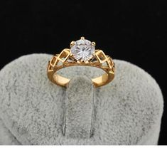 Gold engagement rings for ladies - On sale near me ideas 884374413