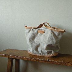 ASABORAKE Leather Linen Combo Tote Bag | Flickr: Intercambio de fotos
