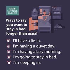 Firmas de decir que quieres permanecer en la cama más tiempo de lo habitual #English