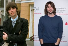 From left: Robert Schwartzman as Michael Moscovitz in The Princess Diaries; Robert Schwartzman on May 23, 2016.