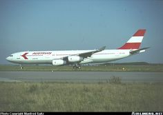 Austrian Airlines Airbus A340-211