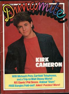Dynamite Issue 143 by JasonLiebig, via Flickr Phil Simms, The Fonz, 80 Tv Shows, Kirk Cameron, Vintage School, Magazines For Kids, My Youth, People Magazine, Famous Celebrities