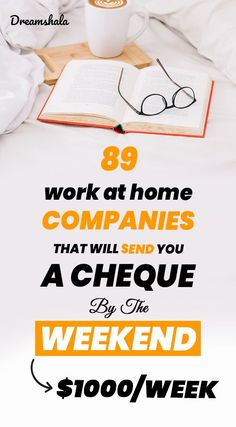 Searching for any online jobs that pay more times in a month? If yes, then here is the list of 89 legit online jobs that pay weekly in Check now! Make Money Fast, Make Money Blogging, Make Money From Home, Make Money Online, Money Tips, Earn Money, Work From Home Companies, Online Work From Home, Work From Home Tips