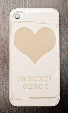 Oh Sweet Mercy iPhone Cover by EmilieMarianDesigns, new to the shop!
