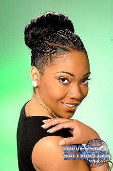 Salon Hair Style : Black Hair Salons, Styles and Models - Universal Salon More