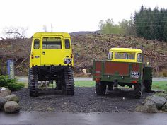 "Cuthbertson and Forest ""roadless"" LandRover"