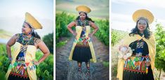zulu wedding at 401 Rozendal Zulu Traditional Wedding Dresses, Zulu Traditional Attire, African Traditional Wedding, Traditional Outfits, Traditional Weddings, Zulu Wedding, Wedding Wear, African American Weddings, African Weddings