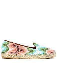 Missoni Mare - Crochet-knit slip-on espadrilles  - mytheresa.com GmbH