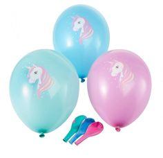 Sechs Luftballons im Set