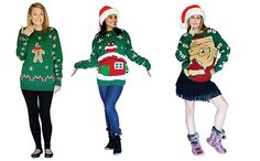 digital-christmas-jumpers: The original range was designed by an ex-NASA engineer. To activate the animations, you simply need to download the free app on iOS and Android on to your phone, select the animation, customise it if you like and insert the phone into the jumper's pouch. Put the jumper on, and voilà – you're wearing a digitally animated Christmas Jumper