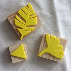 Homemade: Rubber foam stamp - DIY Crafts for Kids Diy Crafts To Do, Crafts For Girls, Gifts For Kids, Arts And Crafts, Foam Stamps, Fabric Crafts, Paper Crafts, Stamp Carving, Handmade Stamps