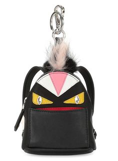 Fendi Mini Monster Backpack Charm $1000 via BG