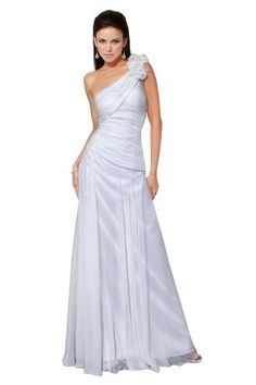 Jovani 159481, Stunning One-Shoulder Full Length Gown « StylishAndAccessories.com