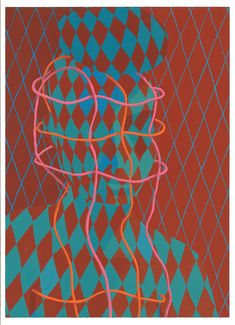 Sascha Braunig Braces, 2013 acryla-gouache on paper 37,4 × 26 cm (14 3/4 × 10 1/4 inches)