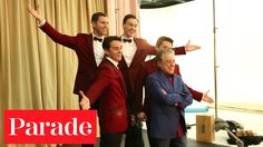 Behind the Scenes w/ Jersey Boys and Frankie Valli   Parade Photo Shoot