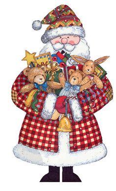 CHRISTMAS SANTA CLIP ART