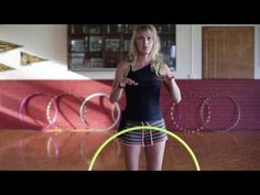 ▶ Hula Hoop Tutorial: FLOW & DANCE : Beginner / Intermediate Hooping Tricks - YouTube