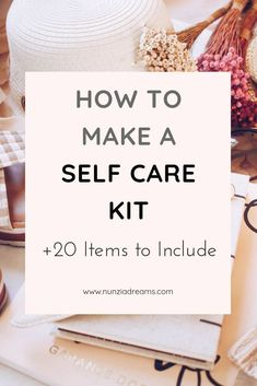 A kit dedicated to self care is the perfect reminder to slow things downespecially during busier periods like the holidays! Although everyones self care kit will look different here are a a few of my essentials recommendations you can put in your kit! Motivation, Self Care Activities, Care Quotes, Smile Quotes, Quotes Quotes, Self Improvement Tips, Self Care Routine, Self Confidence, Wellness Tips