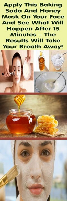 The recipe that we suggest in this article is the best face mask you can even try! It will help you get rid of acne, dark circles, blackheads and you will get beautiful skin like never before. For this recipe you need two ingredients: baking soda and honey.