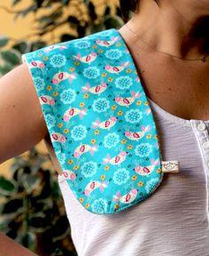 Paninho de ombro pra proteger sua roupa depois das mamadas