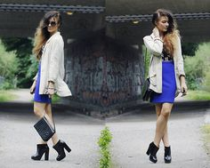 Outi Toivola - Zara Boots, Thrifted Shoulder Bag, H&M Bf Blazer - Don't Wake Me Up