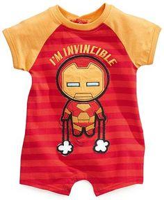 Nannette Baby Bodysuit, Baby Boys Marvel Romper