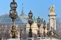 PARIS - Le Grand Palais depuis le pont Alexandre II